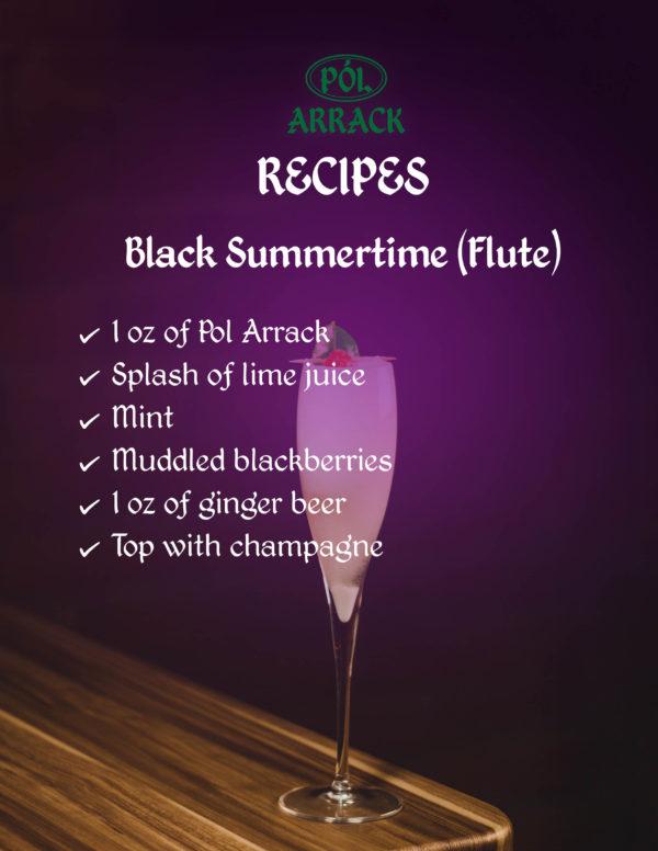 Black Summertime Pol Arrack Recipe